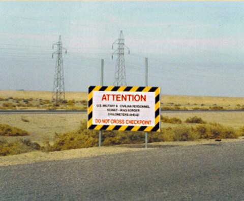 Iraq Border Checkpoint