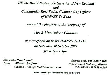 New Zealand Invite