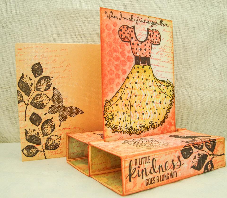 3 Box Card